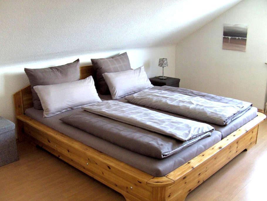 Helles Doppelzimmer mit Bad - Hartheim am Rhein - Casa
