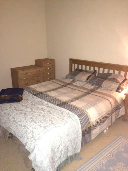 King Size bed with breakfast inc - Llanfairpwllgwyngyll - Talo