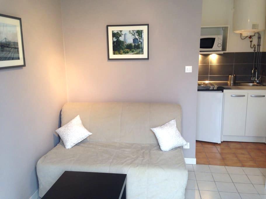 """Studio-Cottage: Proche ville et """"FUTUROSCOPE"""" - Poitiers - Huoneisto"""