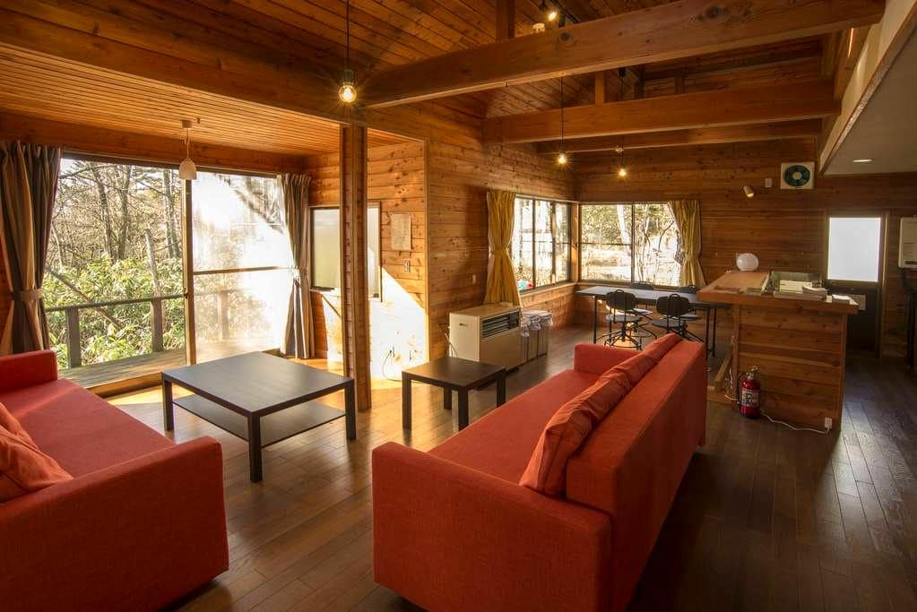 Large Lodge with Real Onsen!/for Ski and Mt./10ppl - Kusatsu-machi - Vila