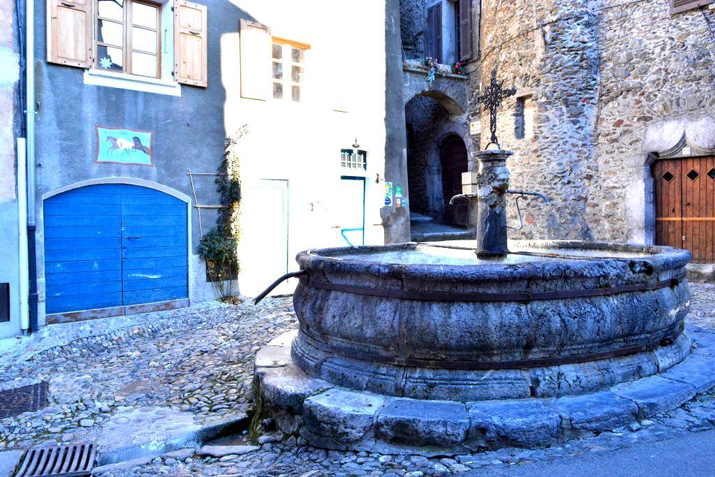 B&B coeur des Alpes, charme de la cité médiévale - Albertville - Bed & Breakfast