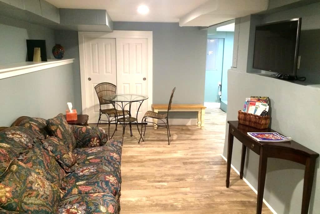 Private Basement Apt in sought-out SE Neighborhood - Portland - Apartment