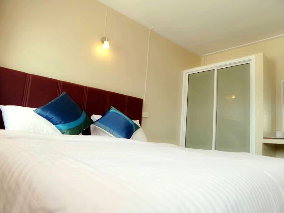 Cozy room/ 30 sq.m./ Wi-Fi - Hat Yai - อพาร์ทเมนท์