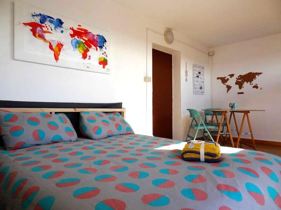 Private cozy studio with terrace - Roma - Apartamento