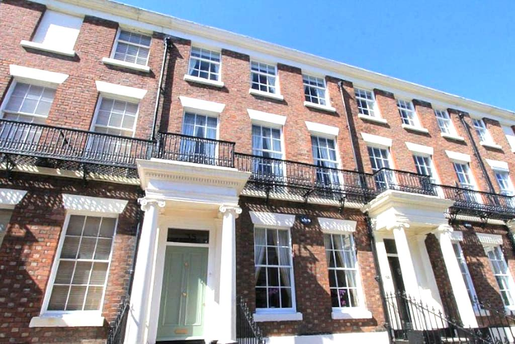 Spacious Apartment in Historic Neighborhood - Liverpool - Wohnung