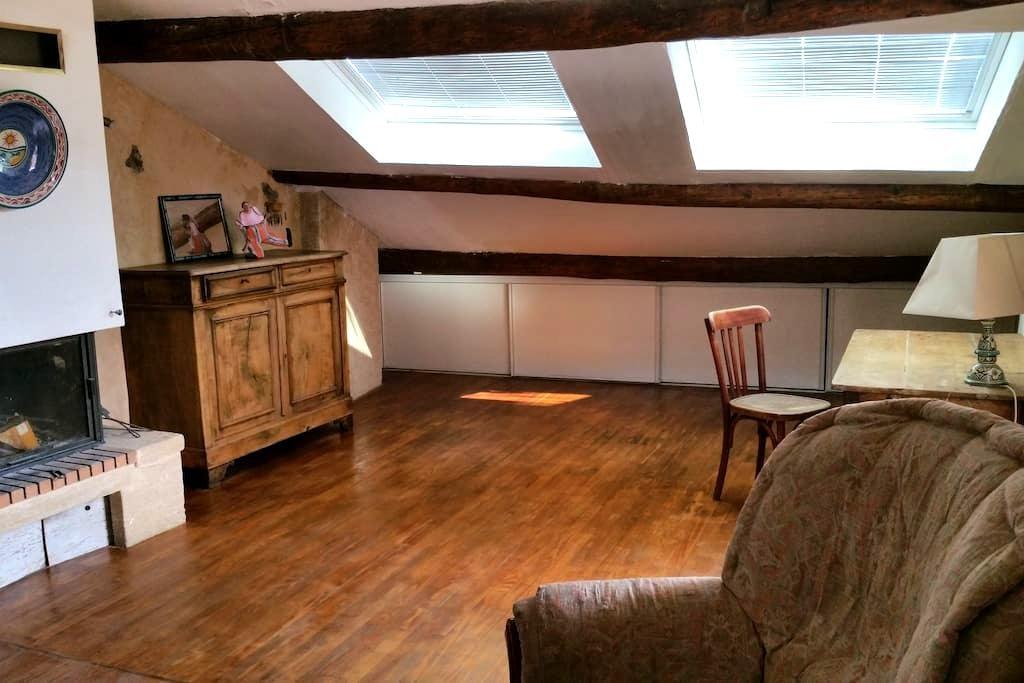 Appartement indépendant dans maison de caractère - La Motte-du-Caire - Haus