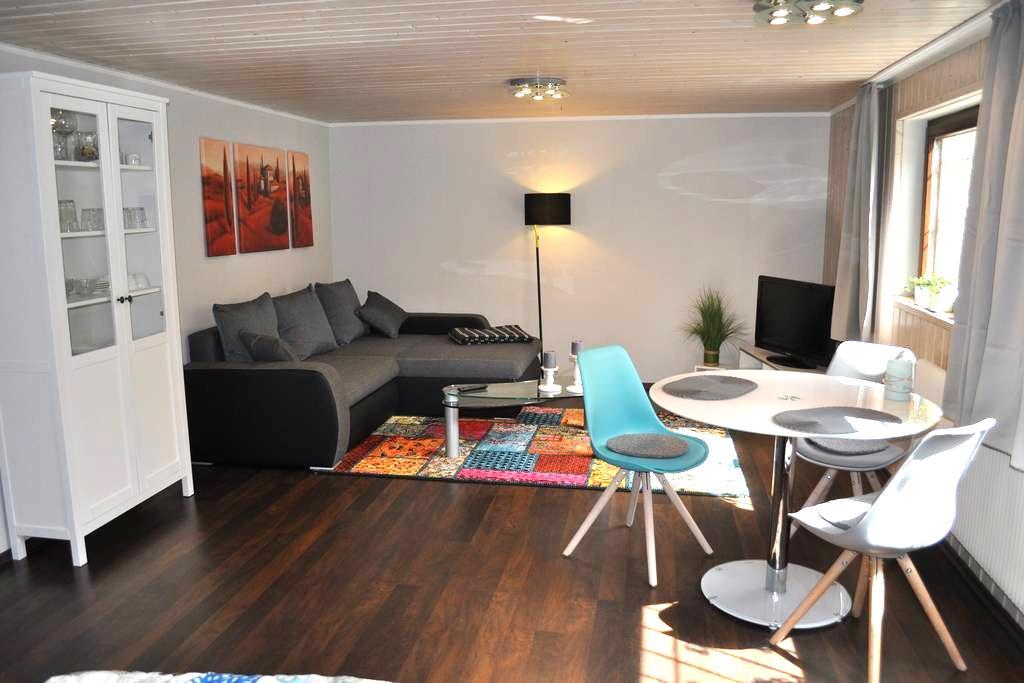 Gemütliche Einliegerwohnung - Nehren - Apartamento