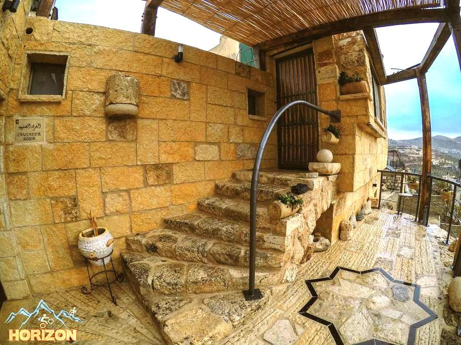 Old bilding , Beatufil view - Nablus