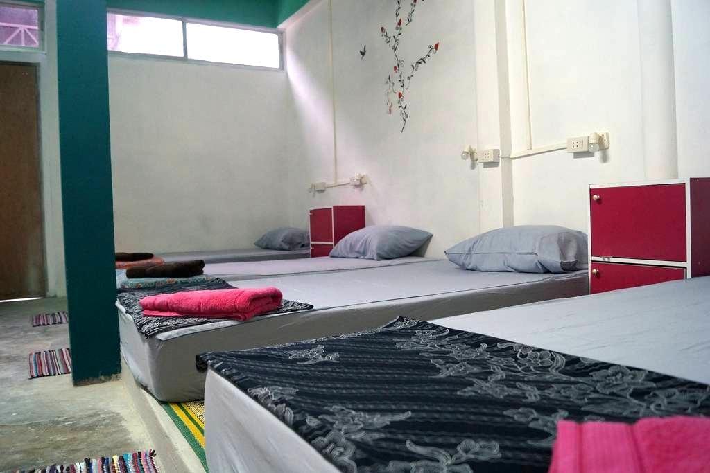 18 Beds Dorm at Haad Rin Beach B13 @FULL MOON - ตำบล บ้านใต้ - Asrama