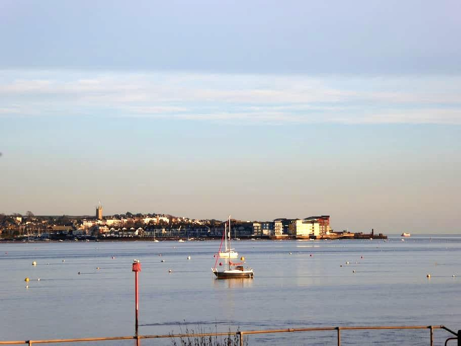 Sea View - Starcross - Oda + Kahvaltı