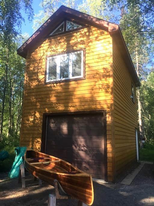 Modern loft near the lake - Talkeetna - Hus