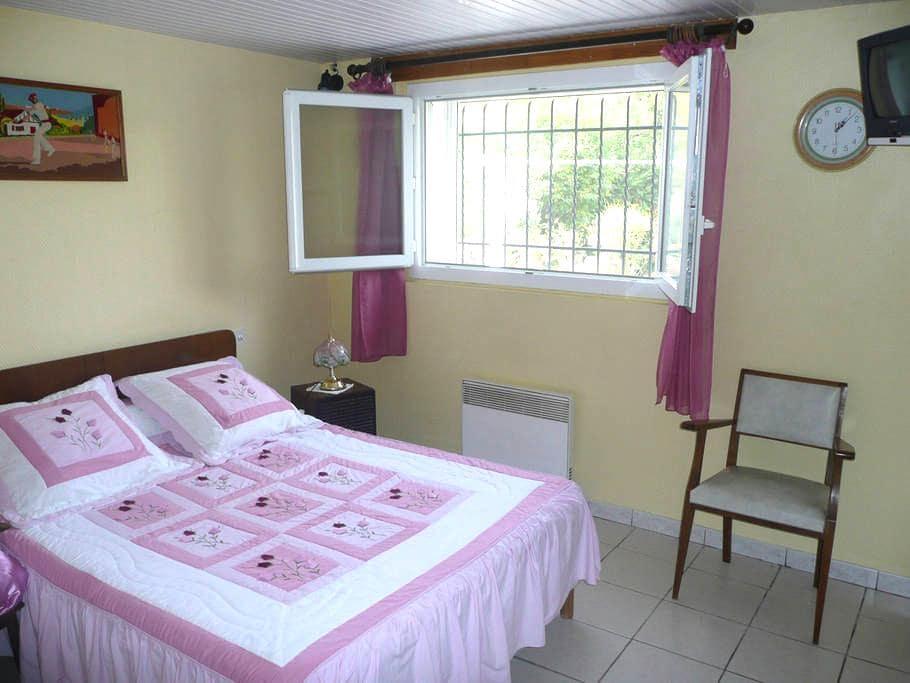 Studio, 25 m2, RDC d'une villa - Saint-Palais