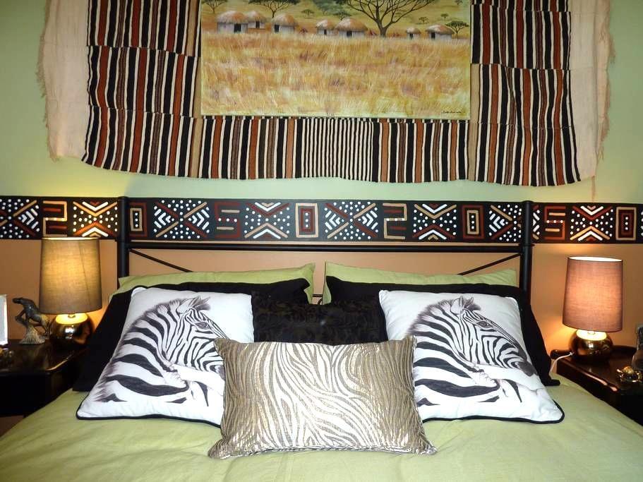 The Safari Room - Creswick - Haus