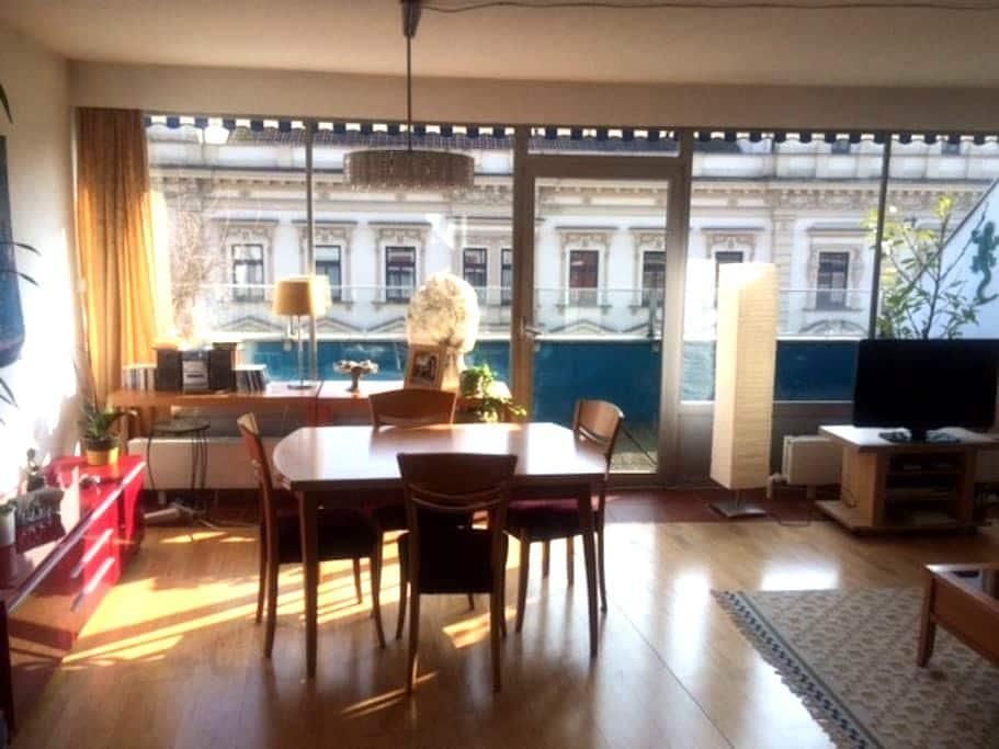 Zentrale Wohnung im Penthouse-Stil - Wels - Apartment
