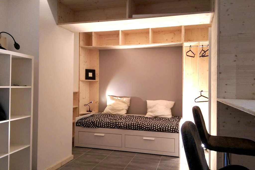 Lons cente studio meublé - Lons-le-Saunier - Apartment