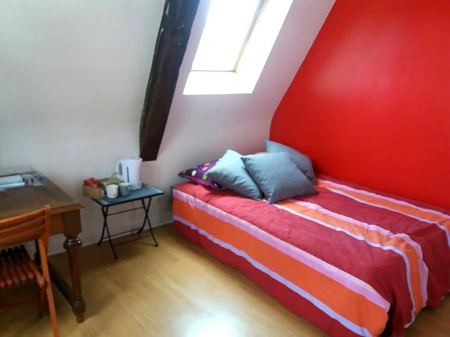 Chambre avec petit déjeuner - Vieux Tours - Tours - Apartment
