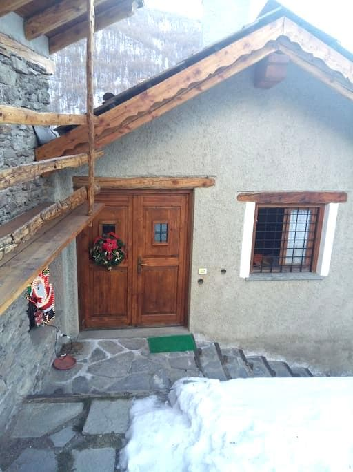 Vista sui monti - Traverses - Apartment