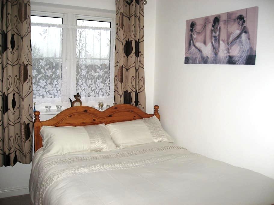 Cosy & quiet double bedroom,own bathroom & parking - Swindon