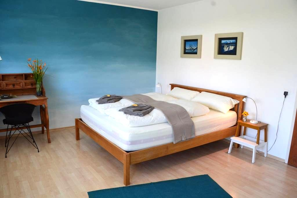 Stylish Guestroom next to Lake including Breakfast - Romanshorn