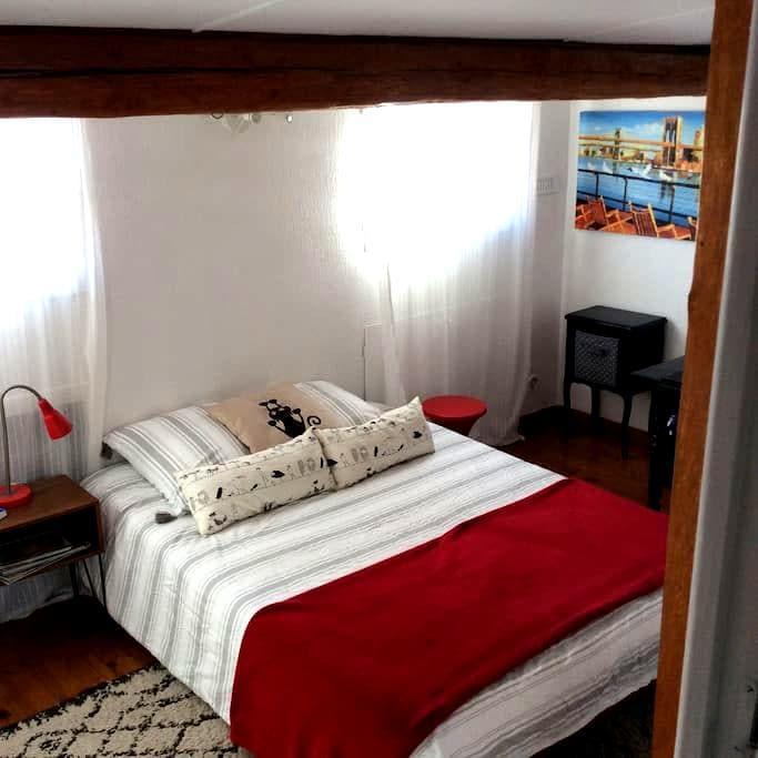 Jolie chambre dans duplex avec terrasse - Marseille - Apartemen