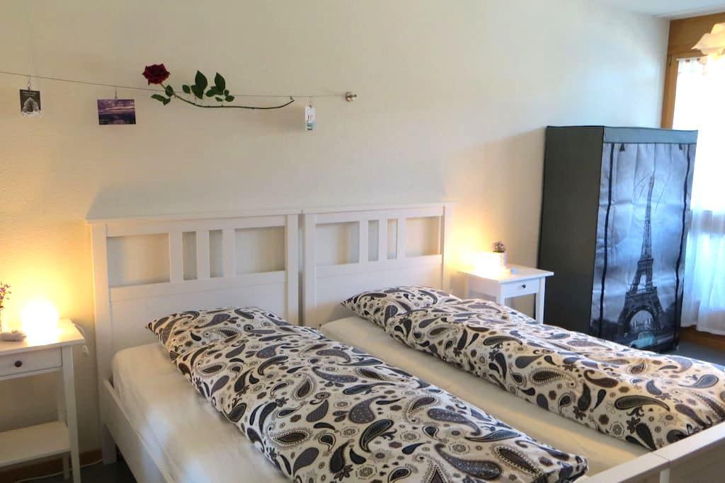 Bright room with balcony - Frutigen