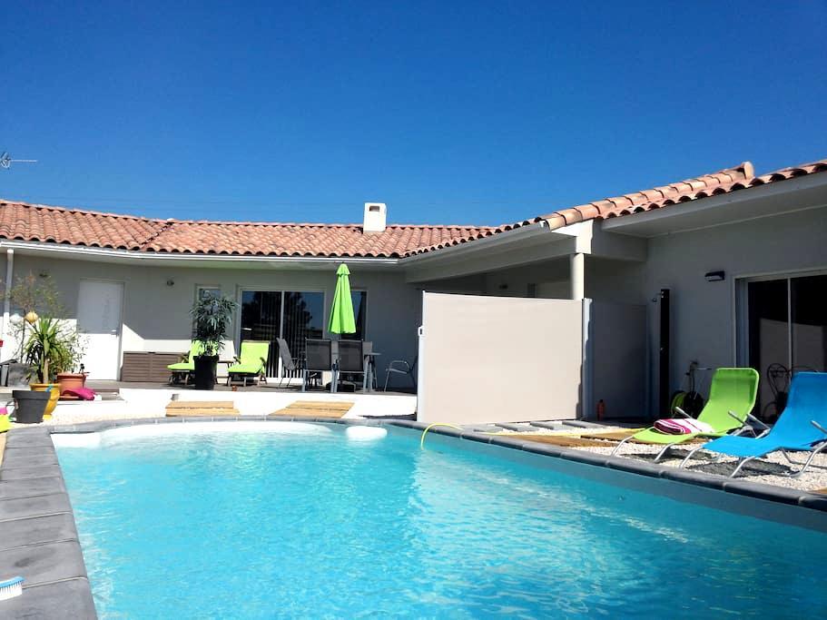 T2 (43 m²), vue piscine, proche Montpellier, mer - Saint-Gély-du-Fesc - Apartamento