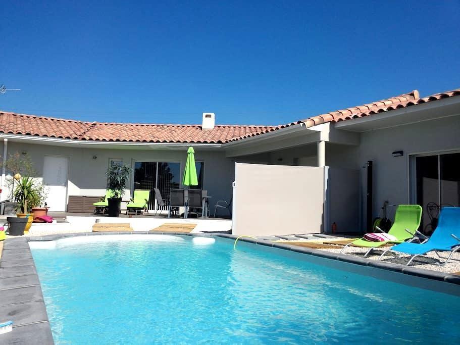 T2 (43 m²), vue piscine, proche Montpellier, mer - Saint-Gély-du-Fesc - Leilighet