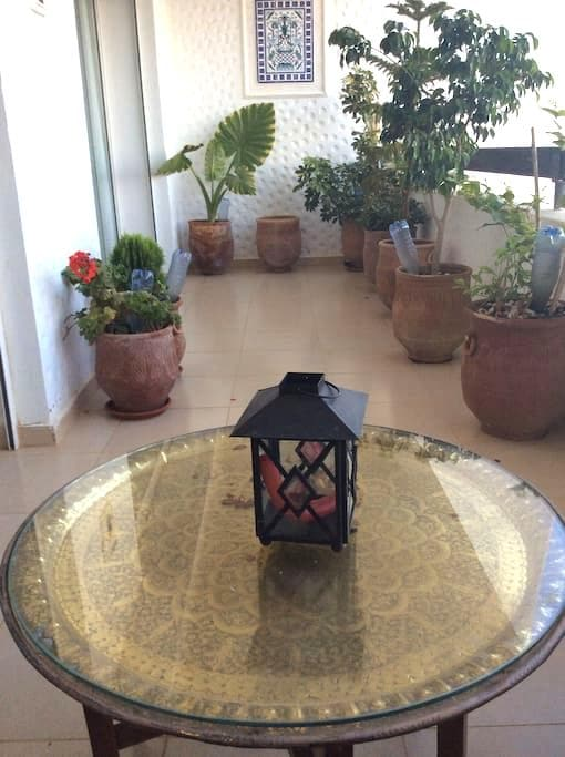 Apartment overlooking golf course - Asilah - Apartamento