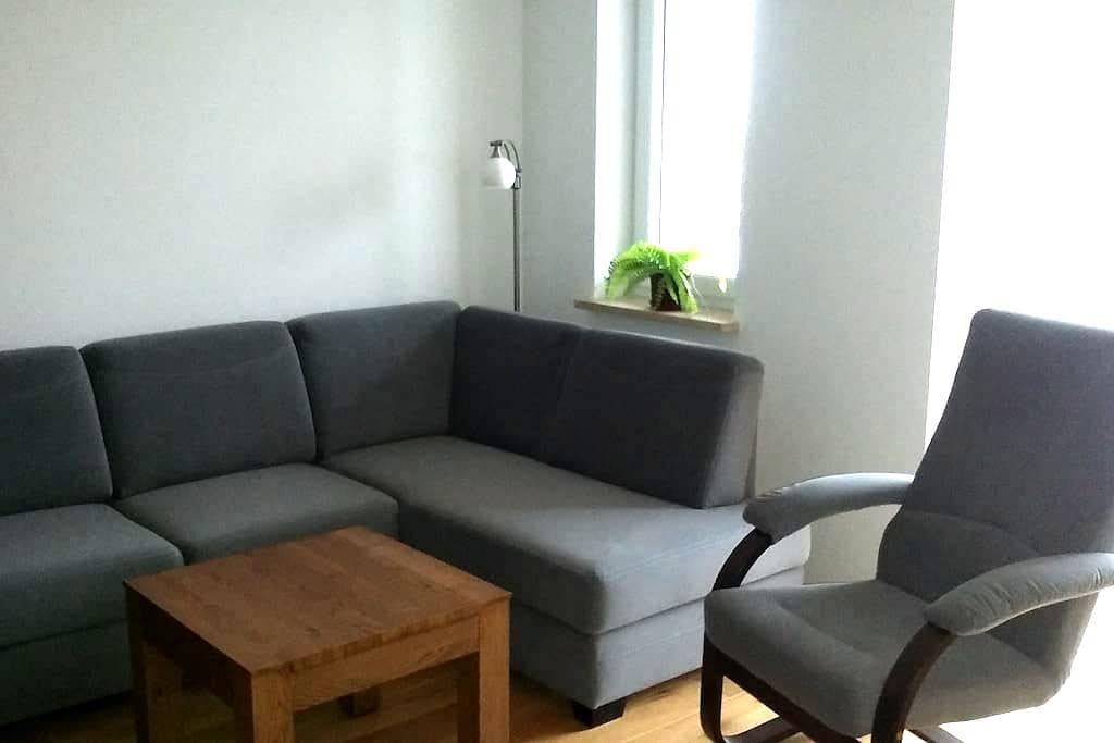 Słoneczny salon dla 2 osób z możliwością dostawek - Gdańsk - Leilighet