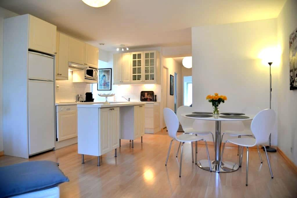 Modern bright two bedroom apartment - Bagnères-de-Bigorre - Daire