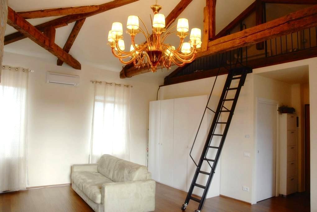 Art-Loft 1, SALVADORE Murano - Venedig - Wohnung