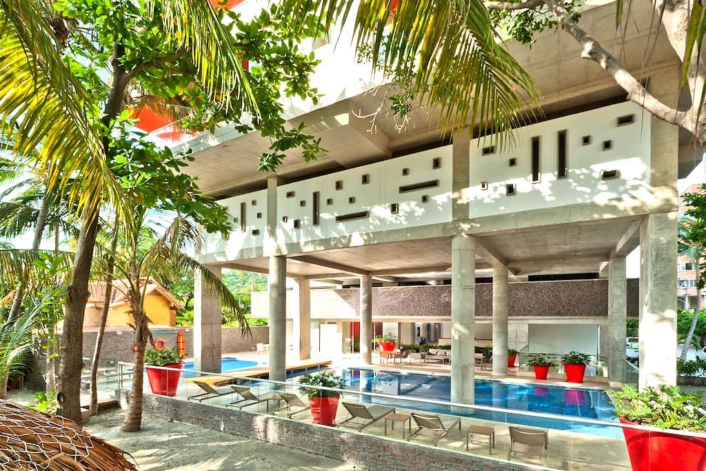Beautiful Apartment by the Sea  - Santa Marta - Wohnung