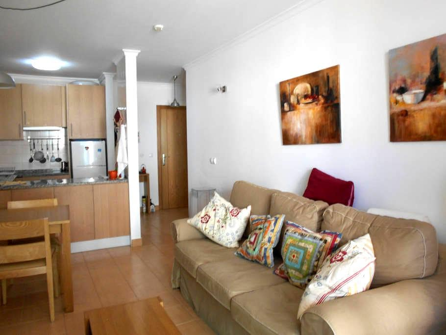 Apartamento 55 m2 en 1ª linea de playa. Montegordo - Monte Gordo - Apartamento