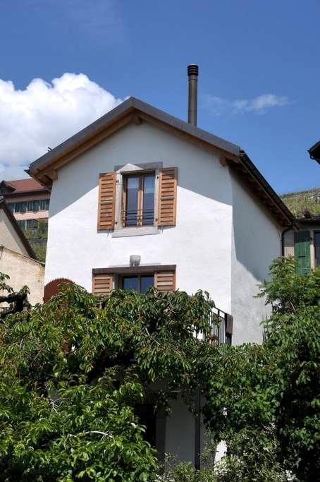 Perle de Lavaux avec vue sur le lac - Bourg-en-Lavaux - Huis