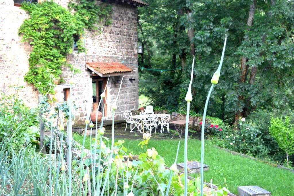logement atypique - Saint-Marcel-de-Félines - 一軒家