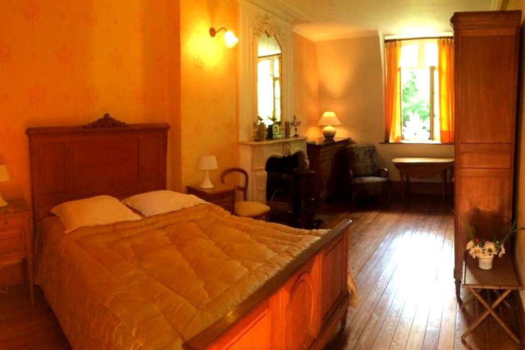 Chambre Jaune au Chateau.... - Courcelles-Sous-Thoix