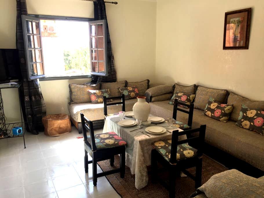 Studio charmant à Guéliz - Marrakech - Apartment