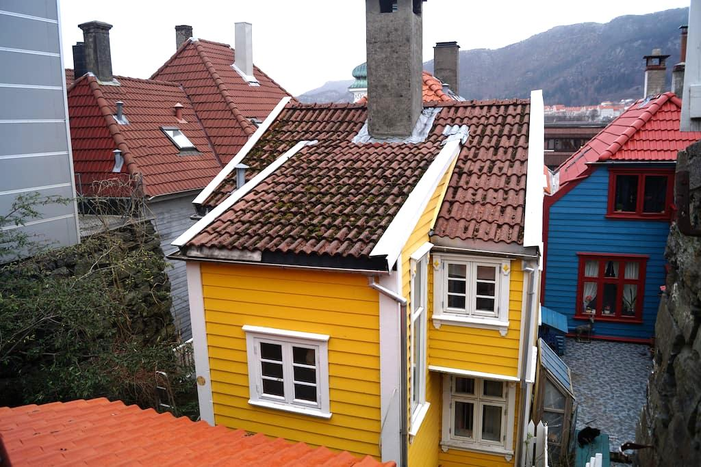 Traditional small Bergen house - Bergen