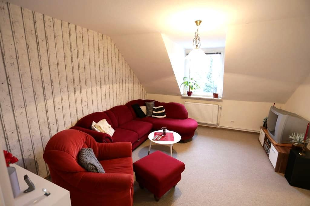 Quite loft overlooking the river Rhine - Duisburg - Flat