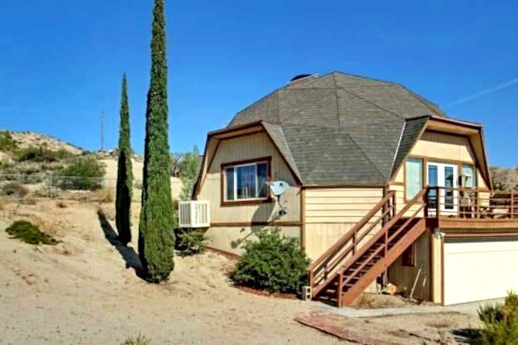 Dome House Queen Private Bedroom - Yucca Valley - Hus