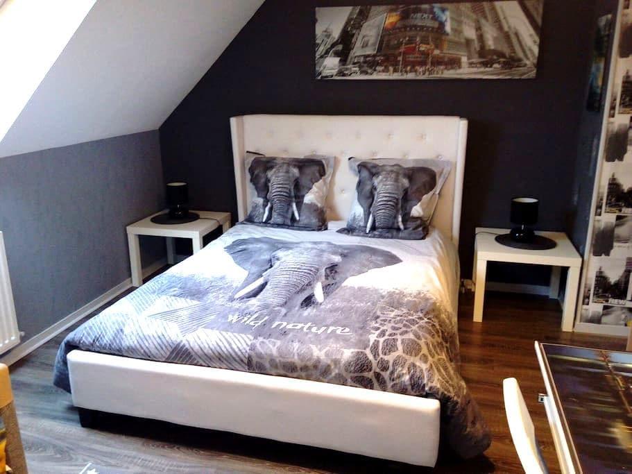 chambreprivé 6 kmde dinard+petitdej - Pleurtuit - House