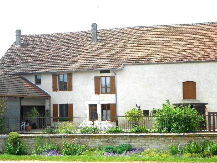 AU GITE DU MONT - Latrecey-Ormoy-sur-Aube - House