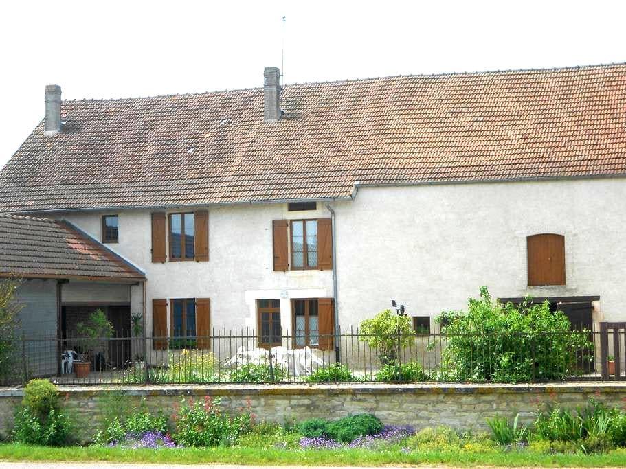 AU GITE DU MONT - Latrecey-Ormoy-sur-Aube - Huis