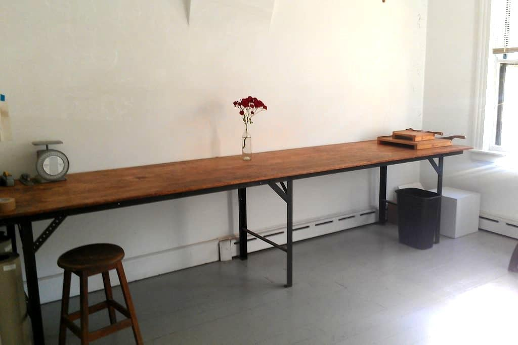Pullman Art Studio - One Person - Chicago
