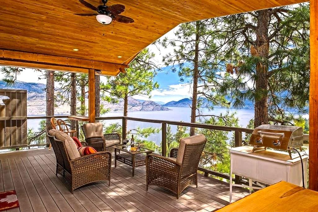 Peachland Eagles Nest B&B, The Tree House Suite - Peachland - Szoba reggelivel