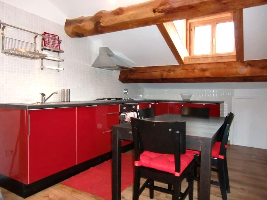Refurbished one bedroom flat  - Gaby - Apartament