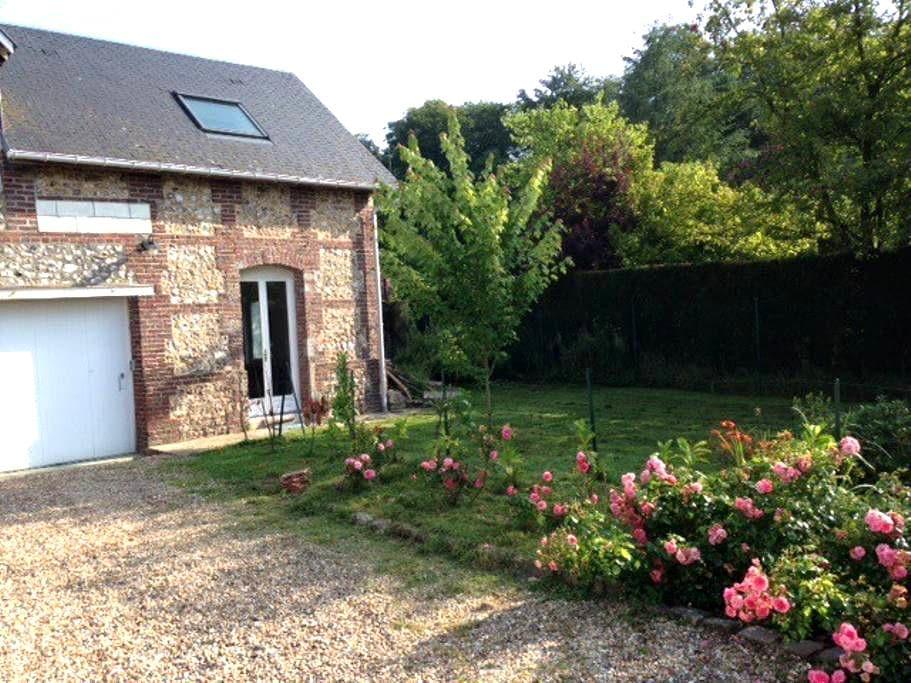 La campagne à 10 min de Rouen - Bois-Guillaume - House