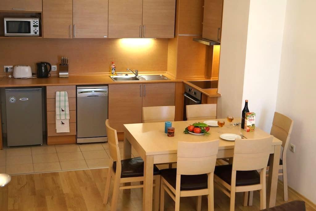 1 bed apartment,Sleep 4, Close to town and Gondola - Bansko - Leilighet