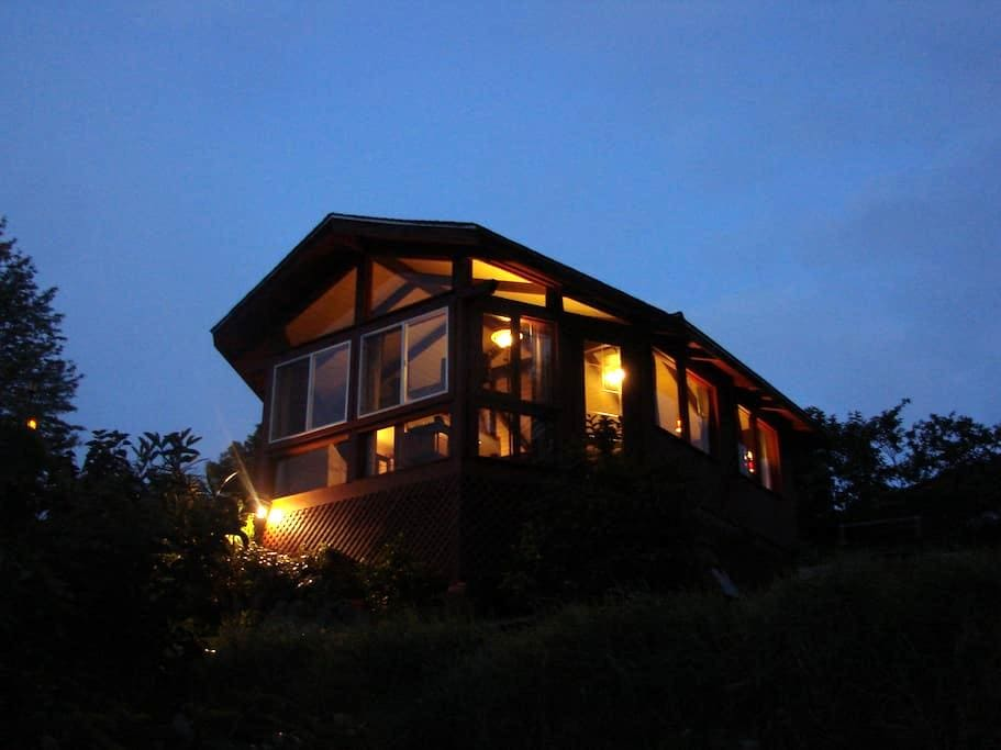 Private Detached Ocean Vw Cottage! - Makawao - Cabaña