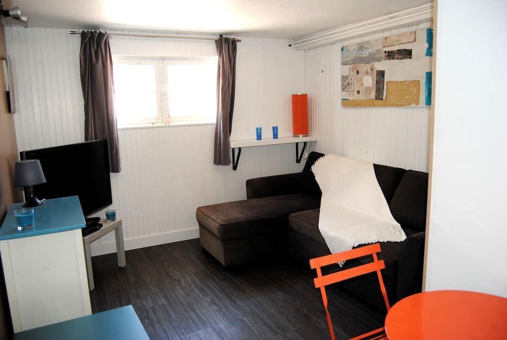 Beau studio 24 m2   RDJ,  terrasse - Toulon